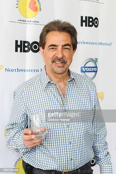 Joe Mantegna attends LA Loves Alex's Lemonade At Culver Studios at Culver Studios on September 29 2012 in Culver City California