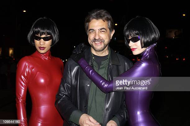 Joe Mantegna during HP and The Hollywood Reporter Celebrate 'The Future Through TV Film' Arrivals at Astra West in West Hollywood California United...