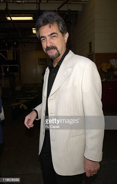 Joe Mantegna during Joe Mantegna leaving Regis Live in New York City New York United States