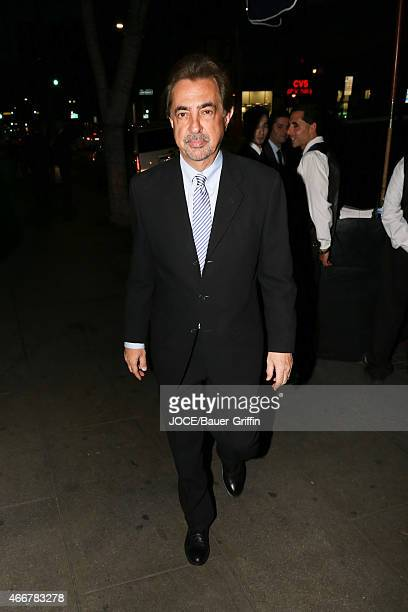 Joe Mantegna is seen in Los Angeles on March 14, 2015 in Los Angeles, California.