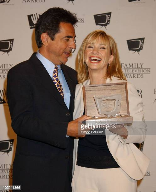 """Joe Mantegna & Kathy Baker during """"5th Annual Family Television Awards"""" at Beverly Hilton Hotel in Beverly Hills, California, United States."""