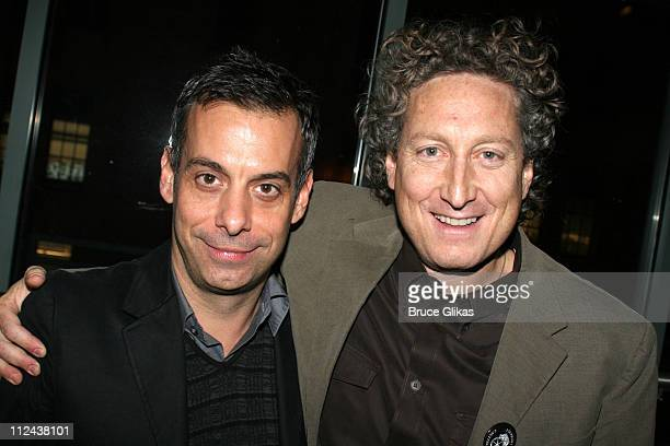 Joe Mantello and Bernard Telsey during New York Casting Society of America 21st Annual Artio's Awards at American Airlines Theater Penthouse in New...