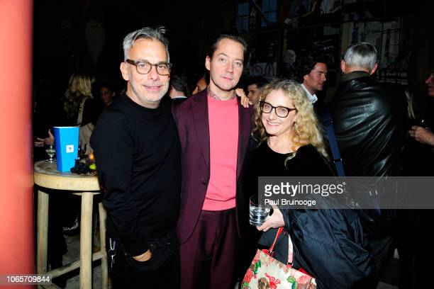Joe Mantello Paul Marlow and Carol Kane attend Roadside Attractions With The Cinema Society Host A Special Screening Of Ben Is Back at The Whitby...