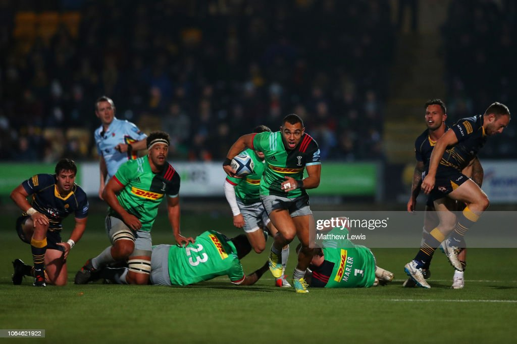 Worcester Warriors v Harlequins - Gallagher Premiership Rugby : News Photo