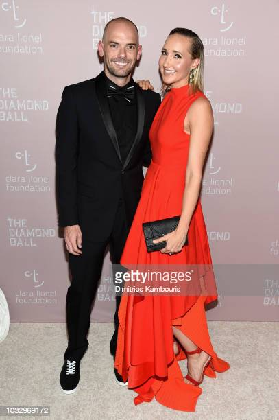 Joe Marchese and Christie Marchese attend Rihanna's 4th Annual Diamond Ball benefitting The Clara Lionel Foundation at Cipriani Wall Street on...