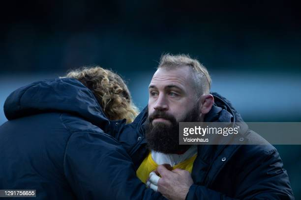 Joe Marler of England during the Autumn Nations Cup Final & Quilter International between England and France at Twickenham Stadium on December 06,...