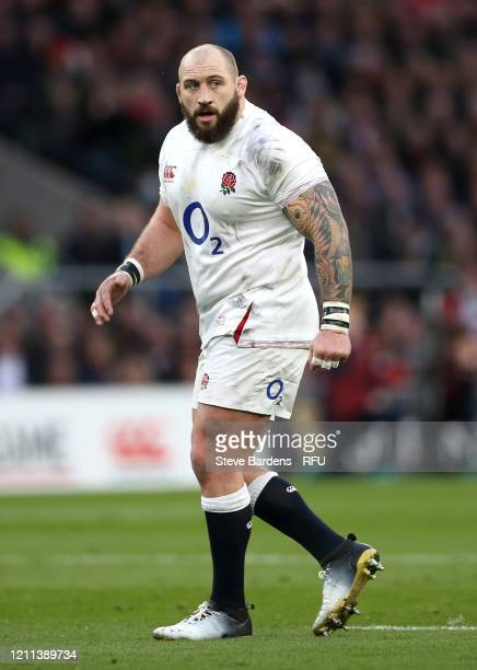 Joe Marler of England looks on during the 2020 Guinness Six Nations match between England and Wales at Twickenham Stadium on March 07 2020 in London...