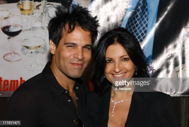 Joe Maruzzo and Kathrine Narducci during HBO Las Vegas Fourth Season Premiere Party for The Sopranos at House of Blues Mandalay Bay Hotel and Casino...