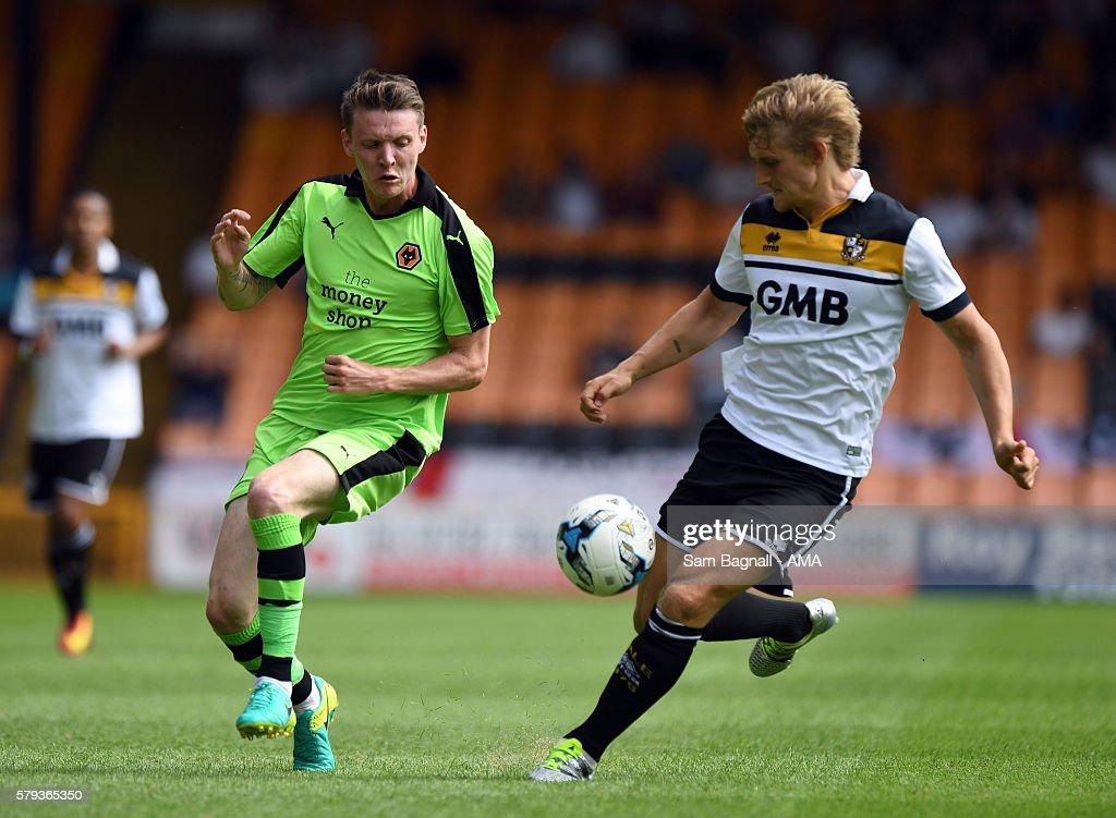 Port Vale v Wolverhampton Wanderers: Pre-Season Friendly : News Photo