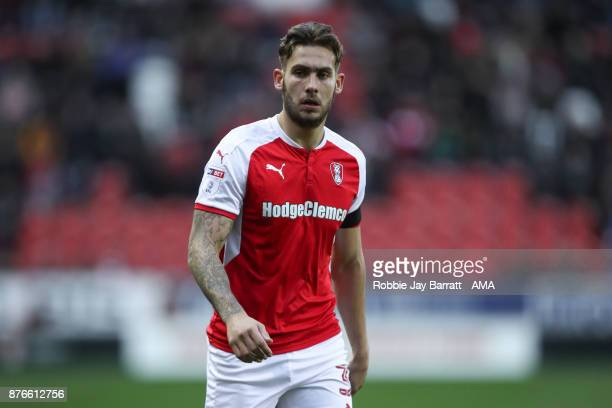 Joe Mattock of Rotherham United during the Sky Bet League One match between Rotherham United and Shrewsbury Town at The New York Stadium on November...