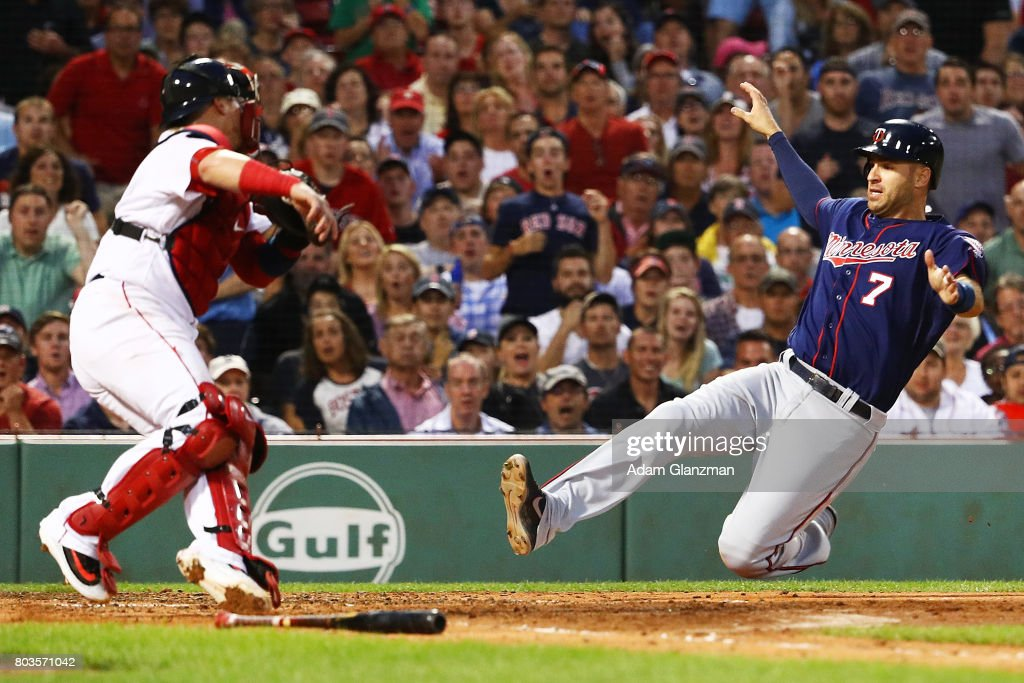 Minnesota Twins v Boston Red Sox