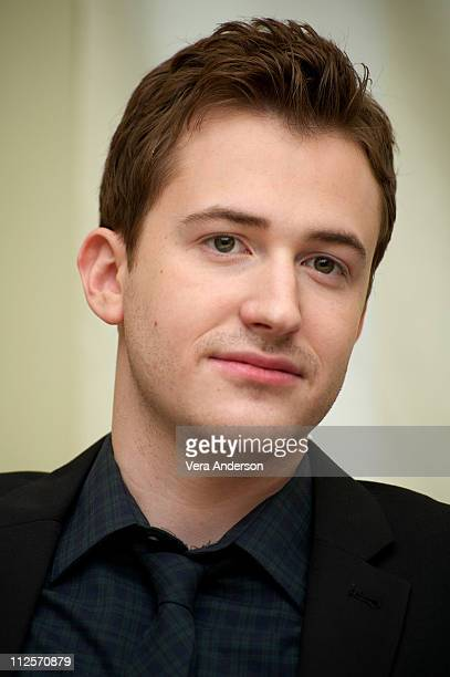 Joe Mazzello attends The Pacific press conference at the Four Seasons Hotel on February 24 2010 in Beverly Hills California