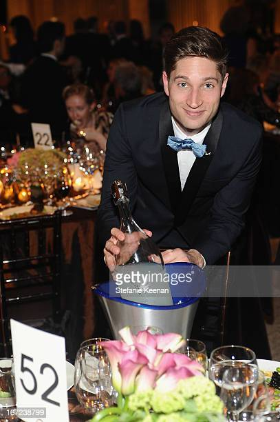 Joe McCanta Brand Ambassador for Grey Goose attends The Film Society of Lincoln Center's 40th Chaplin Award Gala supported by Grey Goose vodka at...