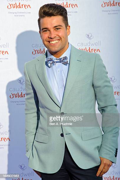 Joe McElderry attends The Butterfly Ball A Sensory Experience in aid of the Caudwell Children's charity at Battersea Evolution on May 16 2013 in...