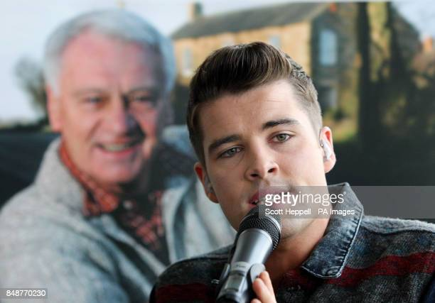 Joe McElderry performs Nessun Dorma after announcing in Gateshead of Sir Bobby Robson A Celebration an event at the Sage in February to raise funds...