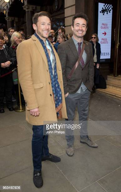 Joe McFadden attends Chess The Musical press night at London Coliseum on May 1 2018 in London England