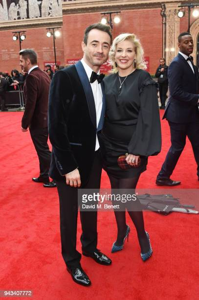 Joe McFadden attends The Olivier Awards with Mastercard at Royal Albert Hall on April 8 2018 in London England