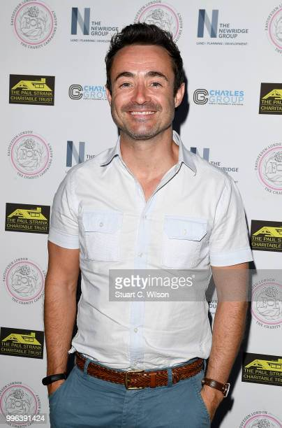 Joe McFadden attends the Paul Strank Charitable Trust Summer party at Sanctum Soho Hotel on July 11 2018 in London England
