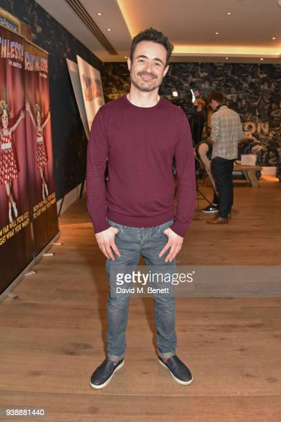 Joe McFadden attends the press night after party for 'Ruthless The Musical' at The Ham Yard Hotel on March 27 2018 in London England