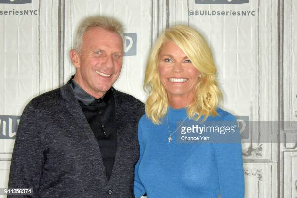 Joe Montana and Jennifer Montana attend Build series to discuss Breakaway from Heart Disease at Build Studio on April 10 2018 in New York City