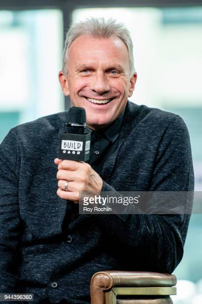 Joe Montana discusses Breakaway from Heart Disease with the Build Series at Build Studio on April 10 2018 in New York City