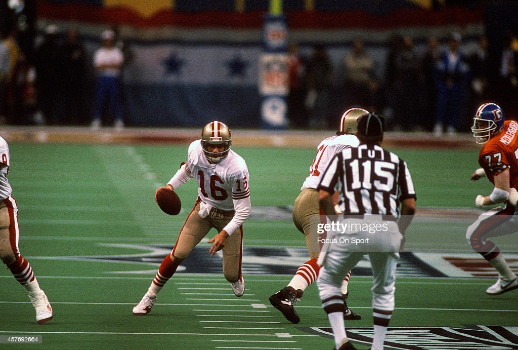 Super Bowl XXIV - Denver Broncos v San Francico 49ers : News Photo