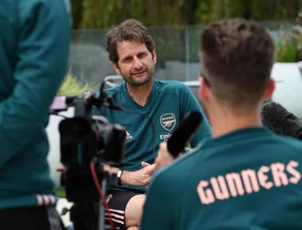 ESP: Arsenal Women's Manager Joe Montemurro Interview