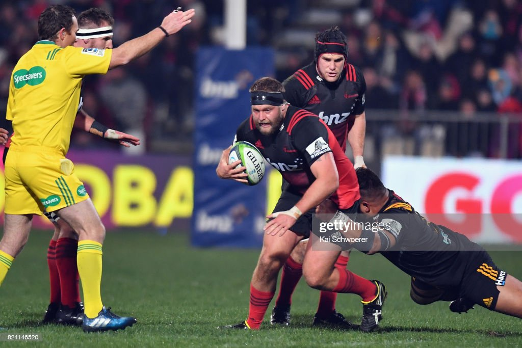 Super Rugby Semi Final - Crusaders v Chiefs : News Photo