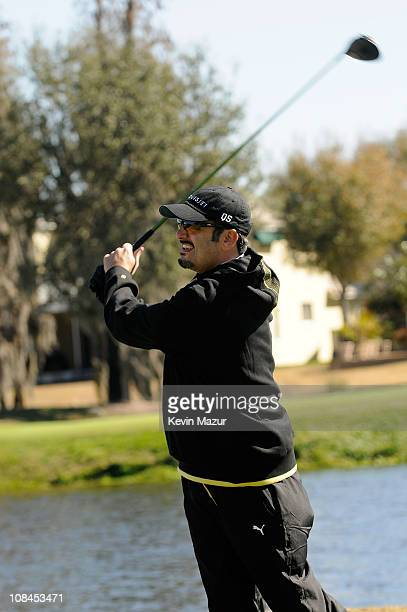 Joe Mulvihill attends the Super Skins Annual Celebrity Charity Golf Classic with Nick Lachey and Jimmie Johnson at TPC Tampa Bay on January 31 2009...