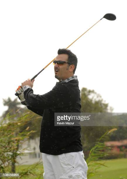Joe Mulvihill attends the Super Skins Celebrity Golf Classic Tee Off at The Biltmore Hotel Golf Club on February 5 2010 in Coral Gables Florida