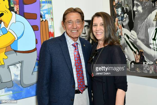 Joe Namath and Dorothea Hurley attend Art New York on May 3 2018 at Pier 94 in New York City