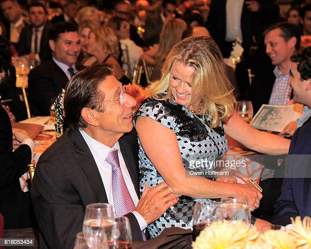Joe Namath and Eileen Nicholas attend An Evening Honoring Joe Namath at The Plaza Hotel on October 20 2016 in New York City
