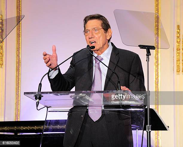 Joe Namath attends An Evening Honoring Joe Namath at The Plaza Hotel on October 20 2016 in New York City