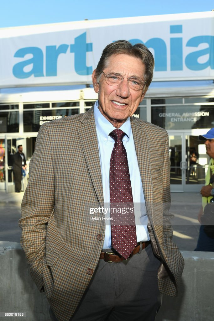 Joe Namath attends Art Miami CONTEXT 2017 at Art Miami Pavilion on December 5, 2017 in Miami, Florida.