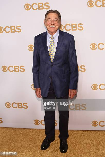 Joe Namath attends the 2015 CBS Upfront at The Tent at Lincoln Center on May 13 2015 in New York City