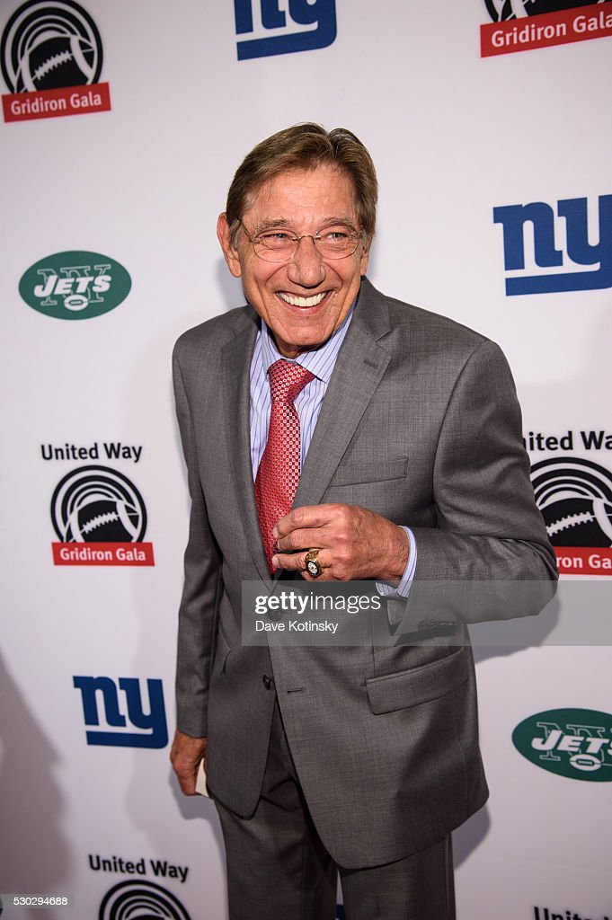 Joe Namath attends The XXIII Gridiron Gala at New York Hilton Midtown on May 10, 2016 in New York City.