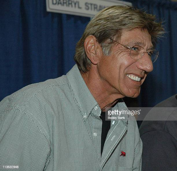 Joe Namath during Fantasy Football Spectacular 2006 at Expo Center Edison in Edison New Jersey United States