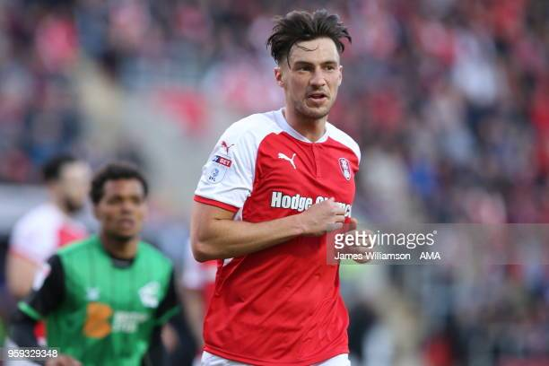 Joe Newell of Rotherham United during the Sky Bet League One Play Off Semi FinalSecond Leg between Rotherham United and Scunthorpe United at The New...