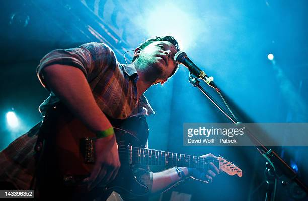 Joe Newman from AltJ opens for Lisa Hannigan at La Fleche d'Or on April 25 2012 in Paris France