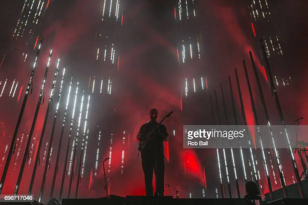 Joe Newman from AltJ performs at The O2 Arena part of The O2's 10th Birthday celebration shows on June 16 2017 in London England