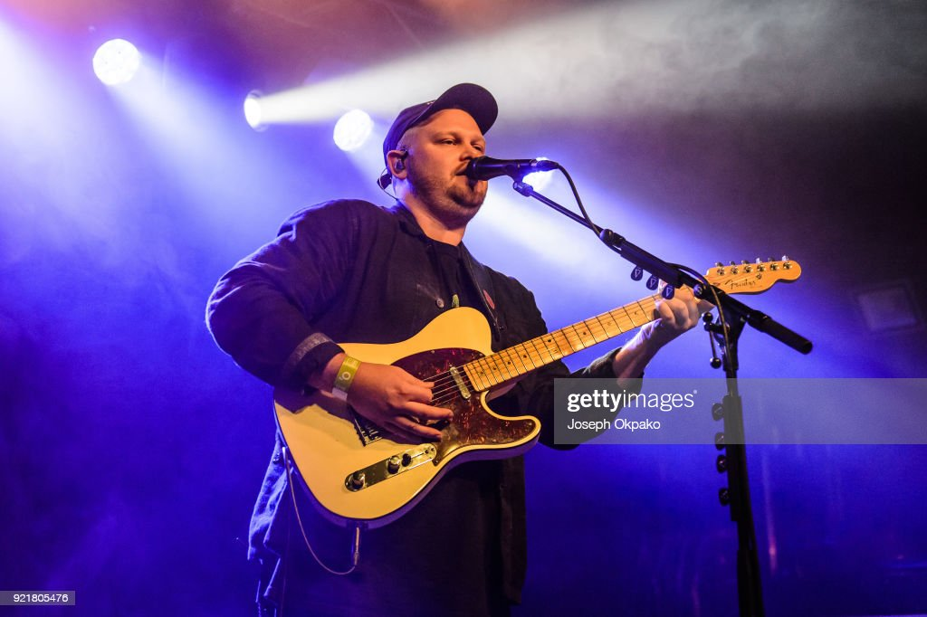 Joe Newman of alt-J performs at The Garage on February 20, 2018 in London, England.