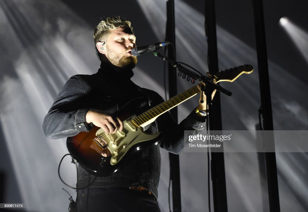 Joe Newman of alt-J performs during the 2017 Outside Lands Music and Arts Festival at Golden Gate Park on August 11, 2017 in San Francisco, California.