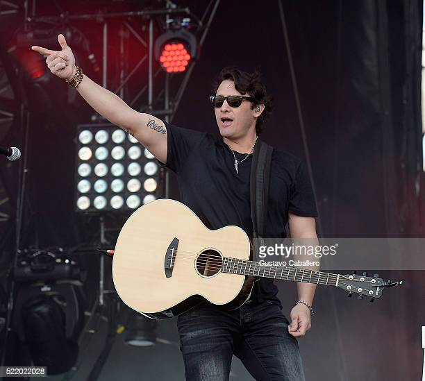 Joe Nichols is onstage during Tortuga Music Festival on April 17 2016 in Fort Lauderdale Florida
