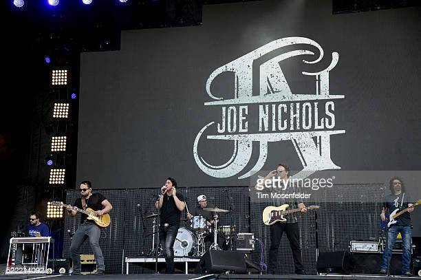 Joe Nichols performs during the Tortuga Music Festival on April 17 2016 in Fort Lauderdale Florida