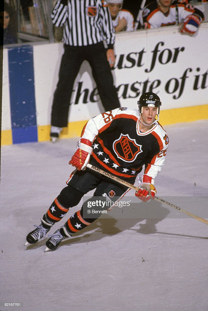 1990 41st NHL All-Star Game: Campbell Conference v Wales Conference : News Photo