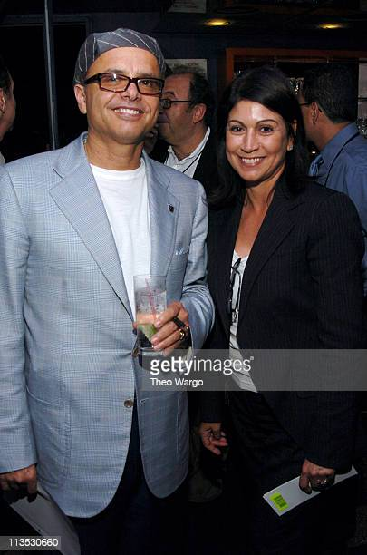 Joe Pantoliano and Caroline Hirsch during US Congressman Amo Houghton Receives 2004 Congressional Spotlight Award hosted by The Creative Coalition at...
