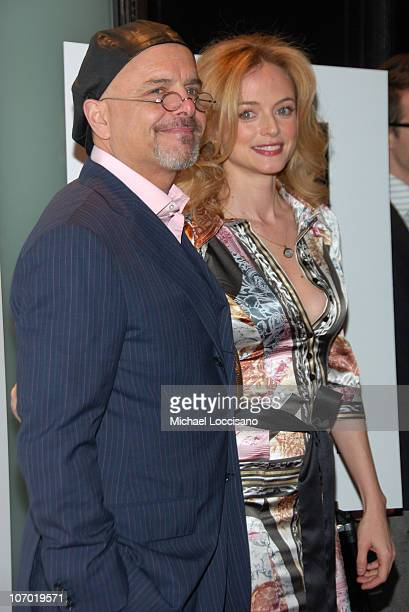 Joe Pantoliano and Heather Graham during The Creative Coalition Gala Hosted by Gotham Magazine December 18 2006 in New York City New York United...
