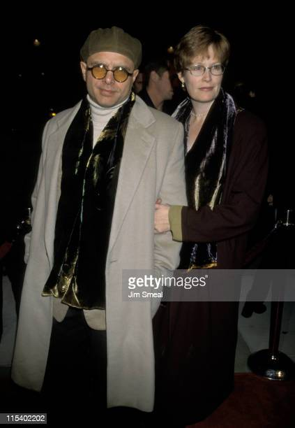 Joe Pantoliano and Nancy Sheppard during Hurleyburly Los Angeles Premiere December 21 1998 at Cineplex Odeon Century Plaza Cinema in Century City...