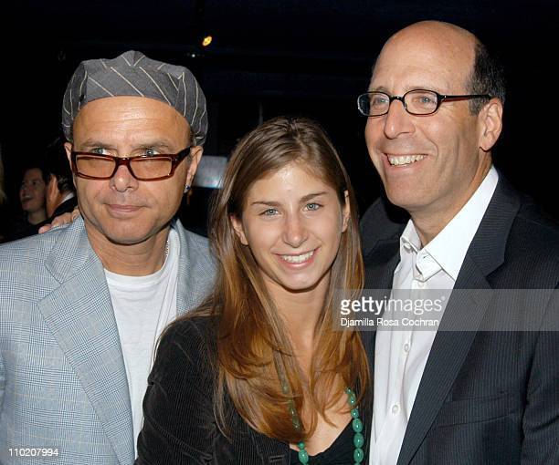 Joe Pantoliano Meredith Blank and Matt Blank during Allied Domecq Sponsors The Creative Coalition RNC Event at Spirit at Spirit in New York City New...