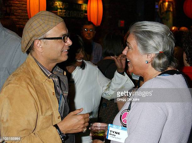 Joe Pantoliano Tyne Daly during 2003 TCA Summer Press Tour CBS Party in Hollywood California United States